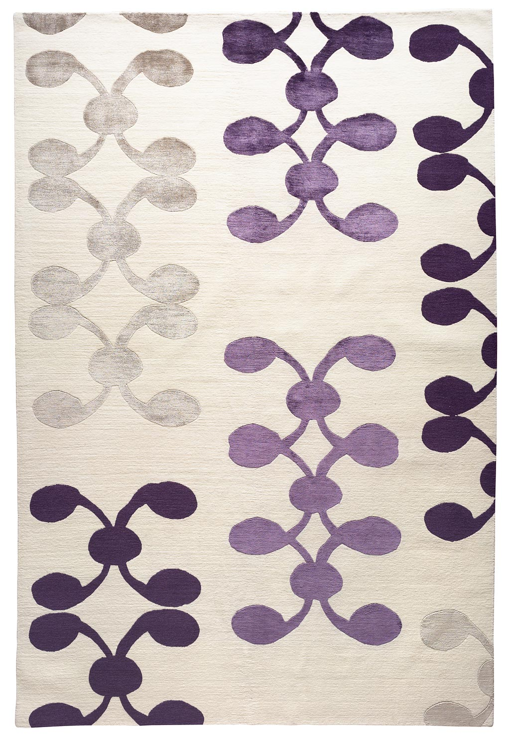Purple and cream rug rugs ideas for Plum and cream rug