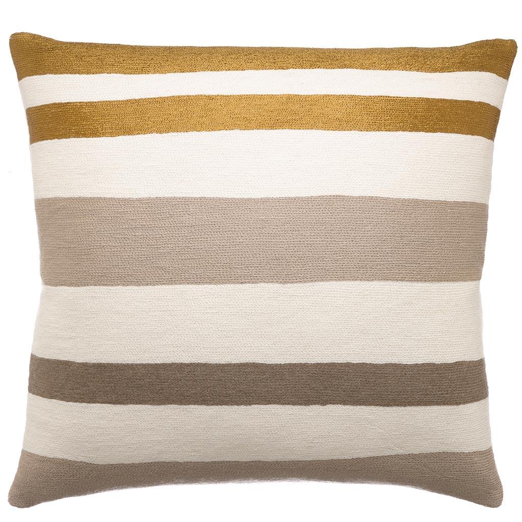 Made To Order Horizon Judy Ross Textiles Gold Sofa Pillows H