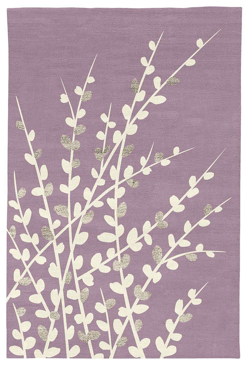 Judy ross textiles rugs spray judy ross textiles for Plum and cream rug