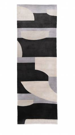 Shop Display Rugs COMPOSITION Shop Display Rugs grey/parchment/charcoal