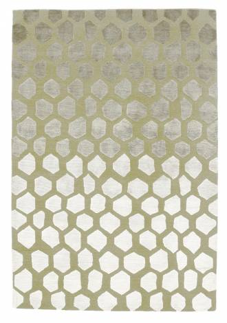 Judy Ross Hand-Knotted Custom Wool Quartz Rug pearl