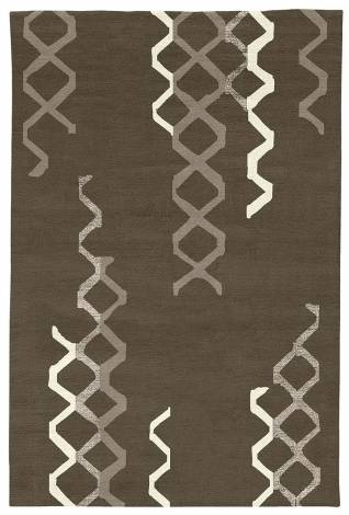 Judy Ross Hand-Knotted Custom Wool Arbor Rug iron/smoke/cream/smoke silk