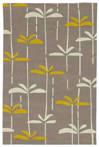 Judy Ross Hand-Knotted Custom Wool Dragonfly Rug smoke/parchment/buttercup