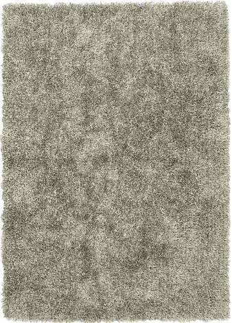 Judy Ross Hand-Knotted Custom Wool Shag Rug champagne