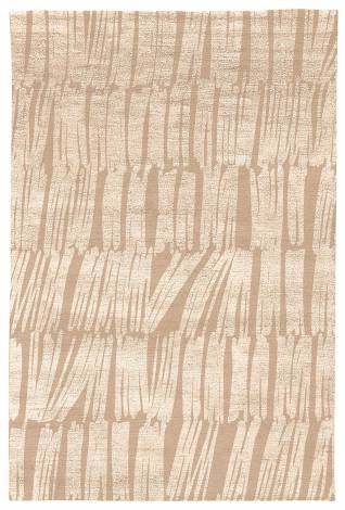 Judy Ross Hand-Knotted Custom Wool Static Rug nude/nude silk